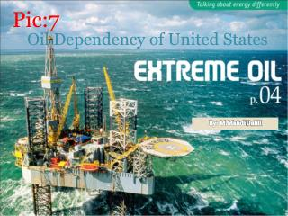 Oil Dependency of United States