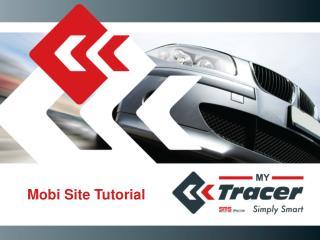 Mobi Site Tutorial