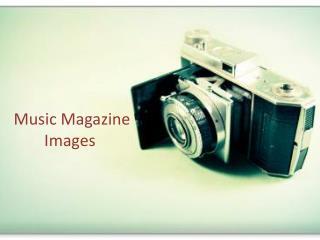 Music Magazine Images