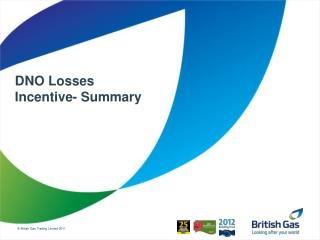 DNO Losses Incentive- Summary