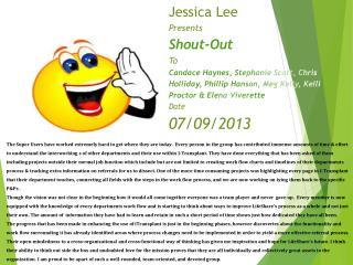 Jessica Super 07092013