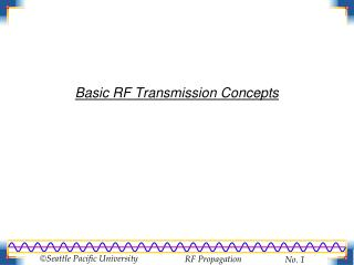 Basic RF Transmission Concepts