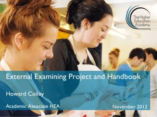 External Examining Project and Handbook
