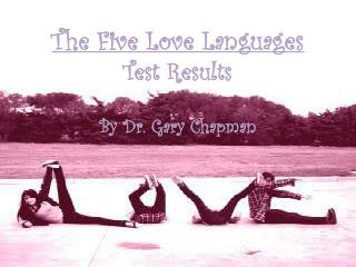 The Five Love Languages Test Results