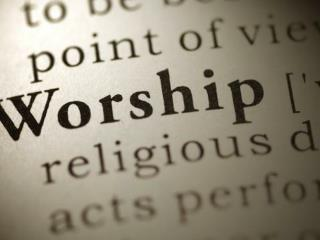 Worship is  SUBMISSION  to God