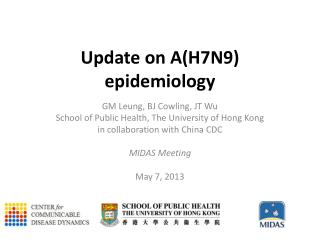 U pdate on A(H7N9) epidemiology