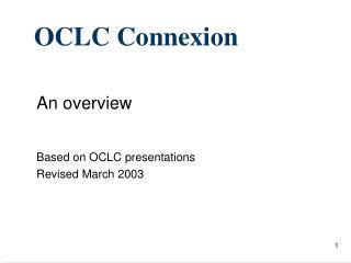 OCLC Connexion