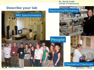 Describe your lab