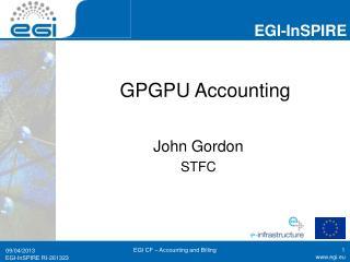 GPGPU Accounting