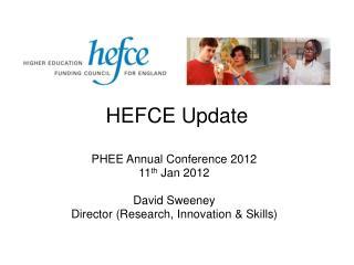 HEFCE Update