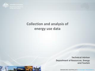 Collection and analysis of  energy use data