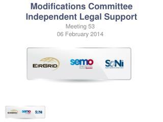 Modifications Committee Independent Legal Support