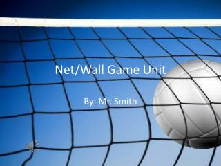 Net/Wall Game Unit
