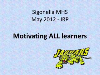 Sigonella MHS  May 2012 - IRP