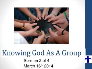 Knowing God As A Group