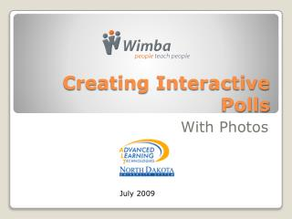 Creating Interactive Polls
