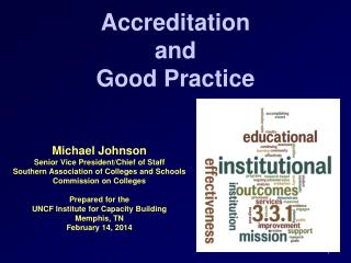 Accreditation  and  Good Practice