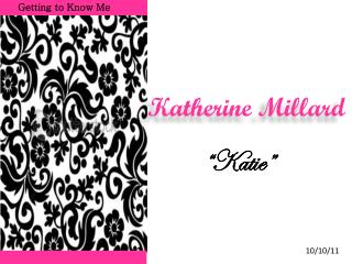 Katherine Millard