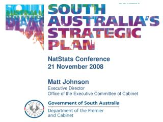 NatStats Conference 21 November 2008 Matt Johnson Executive Director