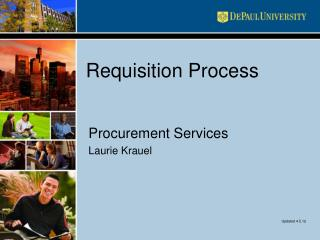 Requisition Process