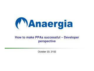 How to make PPAs successful – Developer perspective