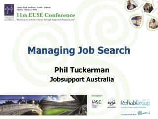 Managing Job Search