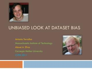 Unbiased Look at Dataset Bias