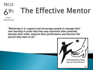 The Effective Mentor