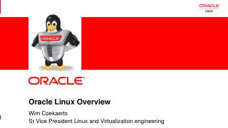 Oracle Linux Overview