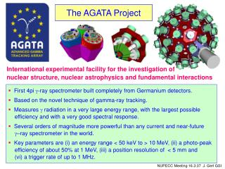 The AGATA Project