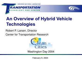 An Overview of Hybrid Vehicle Technologies