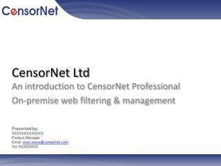 CensorNet  Ltd