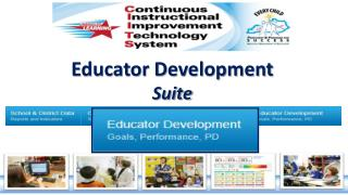 Educator Development Suite