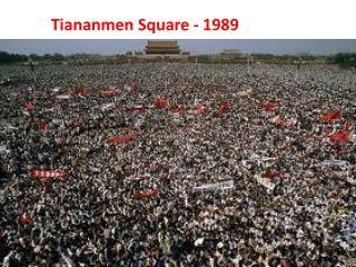 Tiananmen Square - 1989