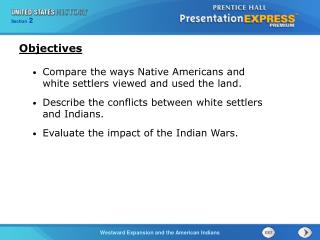 Compare the ways Native Americans and white settlers viewed and used the land.