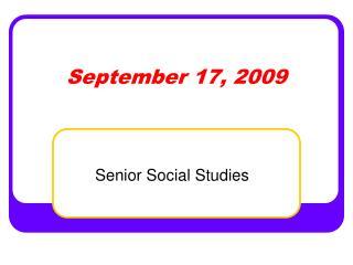 September 17, 2009