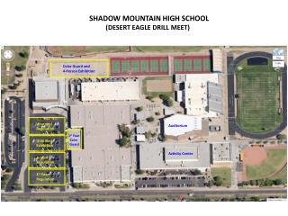 SHADOW MOUNTAIN HIGH SCHOOL          (DESERT EAGLE DRILL MEET)