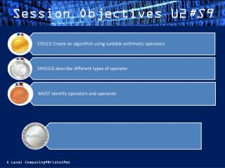 Session  Objectives U2 #S9