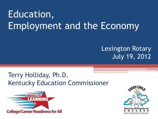 Education, Employment and the Economy