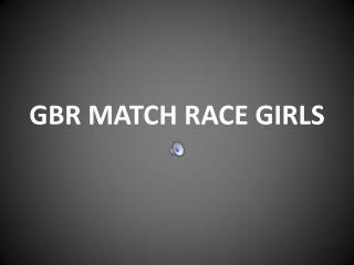 GBR MATCH RACE GIRLS
