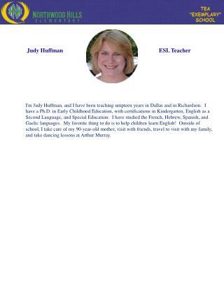 Judy Huffman