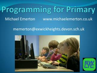 Programming for Primary