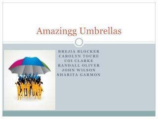 Amazingg  Umbrellas