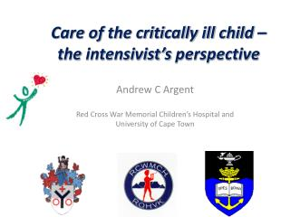 Care of the critically ill child – the  intensivist's  perspective