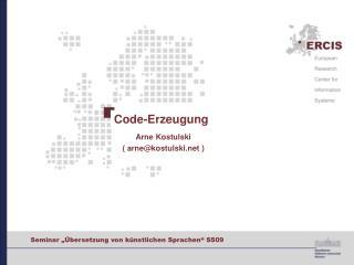 Code-Erzeugung