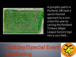 Holiday/Special  Event  Marketing