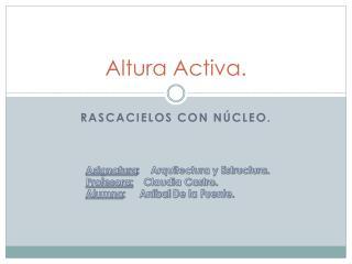 Altura Activa.