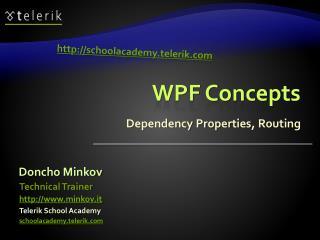 WPF Concepts