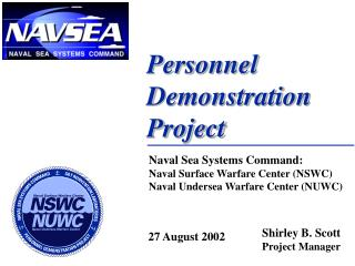 Personnel  Demonstration  Project