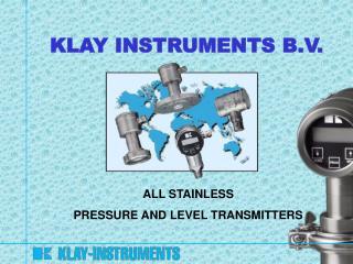 KLAY INSTRUMENTS B.V.